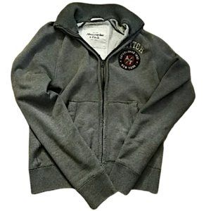 Abercrombie & Fitch Muscle Fit Zip Up Jacket